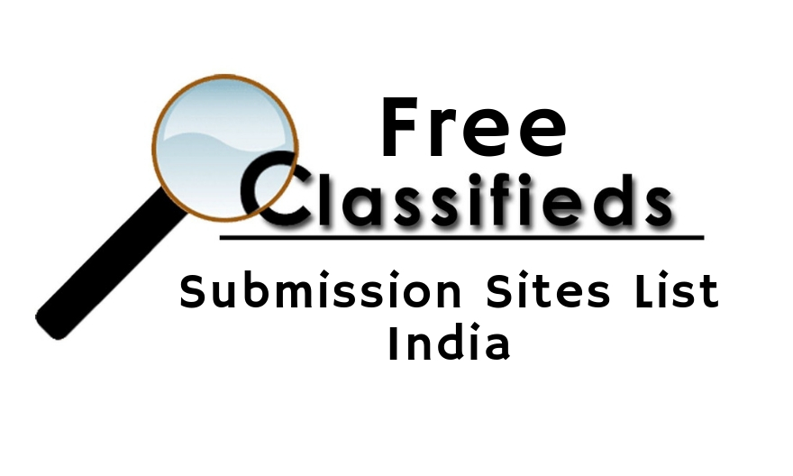 BEST CLASSIFIEDS SUBMISSION SITES LIST IN INDIA